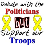 Debate Politicians Support Troops