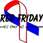 Red Fridays RWB Ribbon