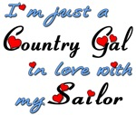 Navy Country Gal