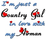Air Force Country Gal