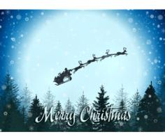 NEW! Santa Claus Is Coming Greeting Cards