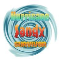 Hurricane Sandy Sunset Survivor