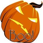 Scary Pumpkin - Boo!