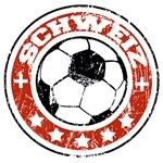 Schweiz Soccer (distressed)