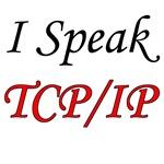 I Speak TCP/IP (red & black)