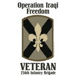 256th OIF Veteran <br>desert patch Apparel
