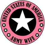 Army Wife Badge