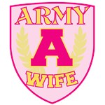 Super Army Wife Crest
