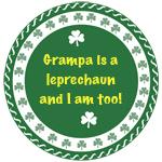 Grampa is a Leprechaun