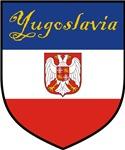 Yugoslavia Flag Crest Shield