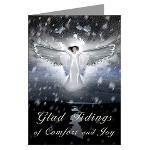 Welcoming Angel Christmas Card plus Gifts