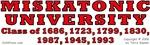 Miskatonic University Class of...