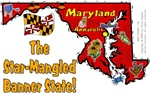 MD - The Star-Mangled Banner State!