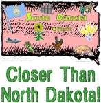 SD - Closer Than North Dakota!