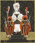 Art Decor Queen of hearts