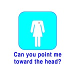 Can You Point Me Toward The Head?