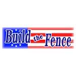 Build The Fence Shirt Sticker & Gear