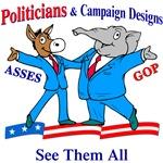 Election 08: Politicians Campaign Candidates