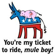 President Obama: Mule Boy!