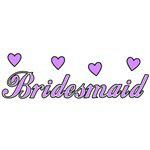 Bridesmaid Wedding Hearts