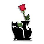 Cat & Rose