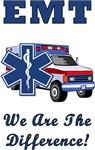 EMT's Are The Difference T-Shirts & Gifts