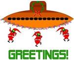 Space Aliens Christmas