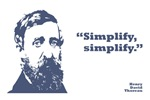 Thoreau - Simplify