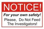 Notice / Investigators