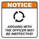 Officer / Argue