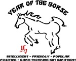 Year of The Horse Characteristics T-Shirts Gifts