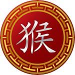 Chinese Zodiac Monkey Character T-Shirts & Gifts