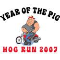 Hog Run 2007 T-Shirt & Gifts