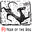 Year of The Dog T-Shirt & Gift Items