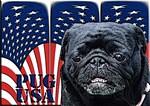 PUG USA 2 Black Pug Merchandise