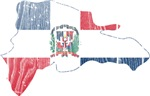 Dominican Republic Flag And Map