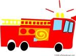 One Fire Truck!