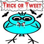 Trick or Tweet Vampire Bird & Bats