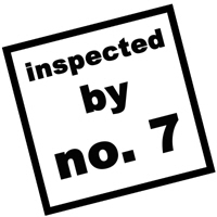 Inspected by no. 7