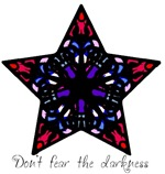 Colorful Stained Glass Star