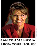 Sarah Palin Can You See Russia