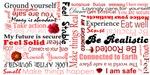 Root Chakra Typography