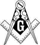 Square & Compasses (black/white)
