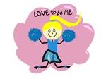 CHEERLEADER - LOVE TO BE ME