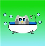 Owl in tub (Aquas)