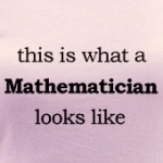 This Is What A Mathematician Looks Like