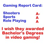 Gaming Report Card