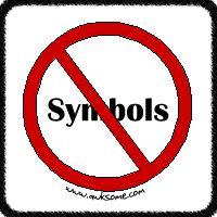 Abolish Symbols