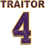 #4 Brett Favre Viking TRAITOR