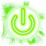 Power Icon Symbol Man/Woman